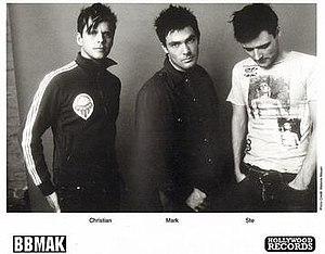 BBMak - BBMAK, 2002.  L-R: Christian Burns, Mark Barry and Stephen McNally