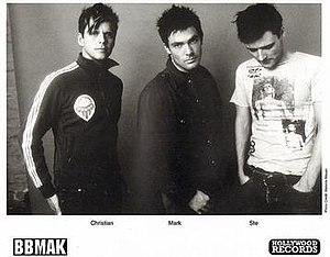 BBMak - BBMAK, 2002.  L-R: Christian Burns, Mark Barry and Stephen McNally