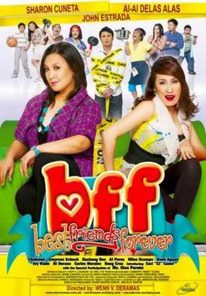 BFF: Best Friends Forever - Theatrical movie poster