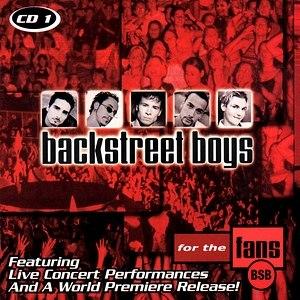 """For the Fans (Backstreet Boys album) - Image: Backstreet Boys """"For the Fans"""" CD1"""