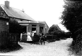 Bentworth - Bentworth's Telegraph office, circa 1905