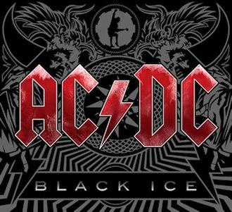 Black Ice (album) - Image: Black ice red