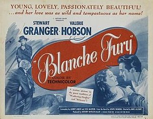 Blanche Fury - Image: Blanche Fury Film Poster