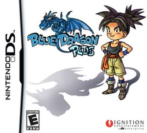 Blue Dragon Plus - Box art