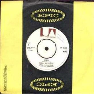 Honey (Bobby Goldsboro song) - Image: Bobby Goldsboro Honey single cover