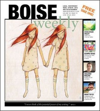 Boise Weekly - Image: Boise Weekly (front page)