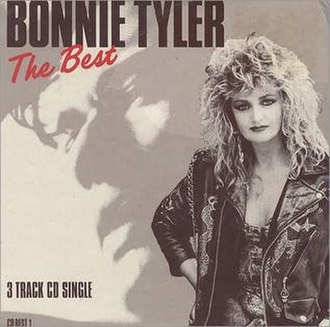 The Best (song) - Image: Bonnie Tyler The Best Single Artwork