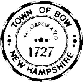 Official seal of Bow, New Hampshire