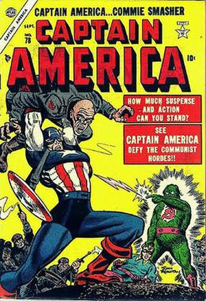 John Romita Sr. - Image: Captain America(Atlas)78