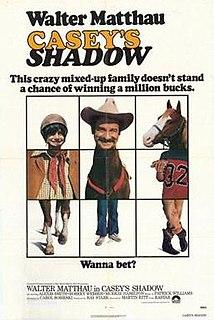 <i>Caseys Shadow</i> 1978 film by Martin Ritt