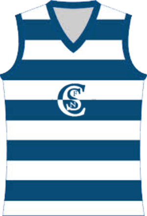 Western Border Football League - Image: Casterton Sandford Football Jumper