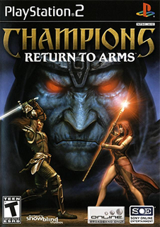 <i>Champions: Return to Arms</i> 2005 video game