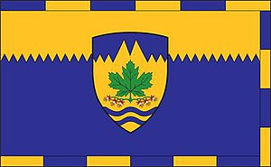 Maple Ridge, British Columbia - Image: City of Maple Ridge, British Columbia flag
