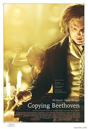 Copying Beethoven - Theatrical release poster