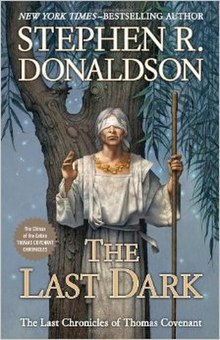 Cover art for Stephen R. Donaldson's The Last Dark.jpg