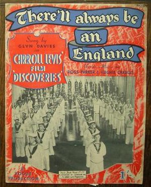 There'll Always Be an England - Image: Cover of sheet music for There'll Always Be An England by Ross Parker and Hughie Charles