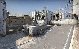 Dust II - As seen in Counter-Strike: Global Offensive