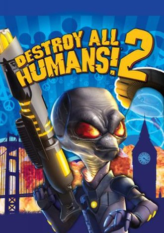 Destroy All Humans! 2 - Image: DAH2box