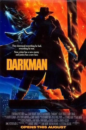 Darkman - Theatrical release poster by John Alvin