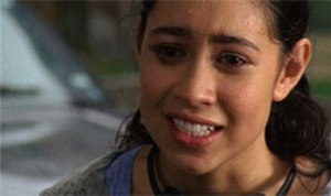 Accidents Will Happen (Degrassi: The Next Generation) - A devastated Manny, after thinking she is pregnant, runs to visit Emma's mother, Spike, for advice.