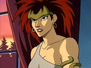 "Demona - Demona in her daytime-only human form, as ""Dominique Destine"""