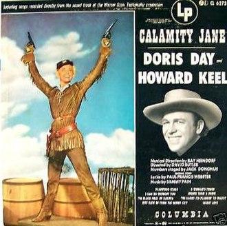 Calamity Jane (album) - Image: Doris Day Calamity J