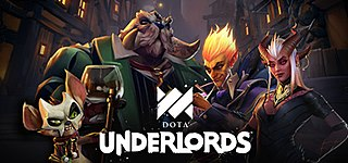 <i>Dota Underlords</i> 2019 strategy video game