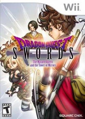 Dragon Quest Swords - North American box art