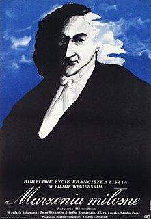 <i>Dreams of Love – Liszt</i> 1970 Soviet-Hungarian film by Márton Keleti