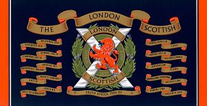 London Scottish (regiment) - Image: Drumlondonscottish 2