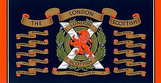 London Scottish (regiment) - Image: Drumlondonscottish 2