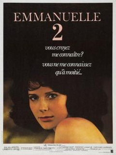 <i>Emmanuelle 2</i> 1975 French softcore erotica film by Francis Giacobetti