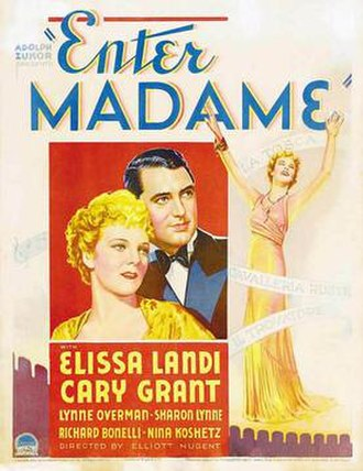 Enter Madame (1935 film) - movie poster