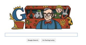 Ernie Coombs - Google's commemorative doodle of their logo used on Nov. 26, 2012.