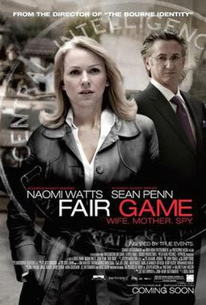 Fair Game (2010 film) - Theatrical release poster