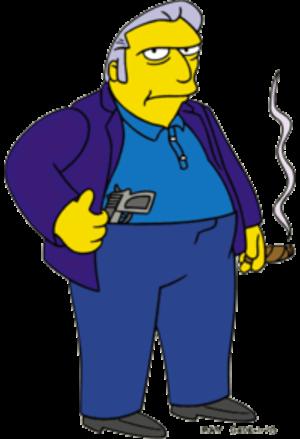 Fat Tony (The Simpsons) - Image: Fat Tony