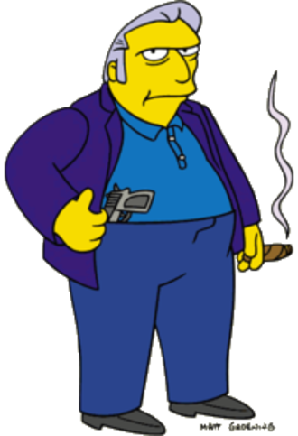 Fat Tony (The Simpsons) - Image: Fat Tony