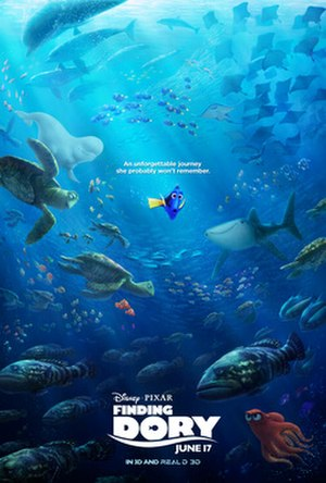Finding Dory - Theatrical release poster