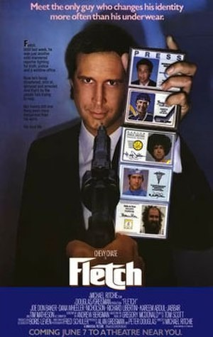 Fletch (film) - Theatrical release poster