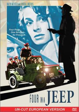 Four in a Jeep - Film poster