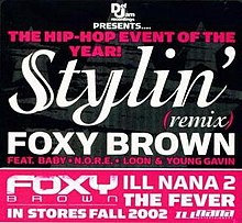 Foxy Brown Stylin' cover.JPG