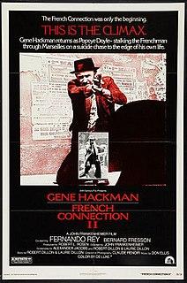 <i>French Connection II</i> 1975 film by John Frankenheimer