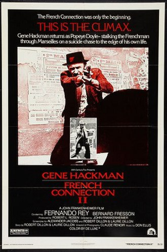 French Connection II - Original 1975 film poster
