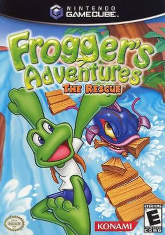 Frogger's Adventures: The Rescue - Image: Frogger's Adventures The Rescue GC