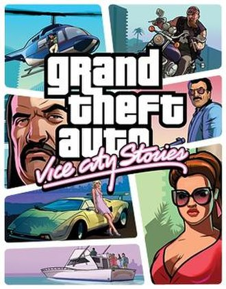 Grand Theft Auto: Vice City Stories - Image: GTA Vice City Stories PSP boxart