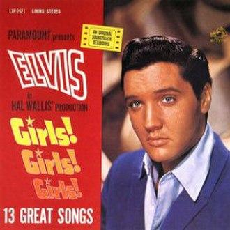 Girls! Girls! Girls! (album) - Image: Girls Girls Girls (album cover)
