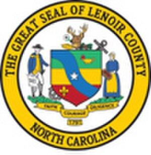 Lenoir County, North Carolina - Image: Great Seal of Lenoir County nc
