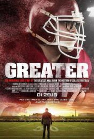 Greater (film) - Theatrical release poster