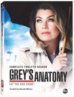 <i>Greys Anatomy</i> (season 12) Season of television series