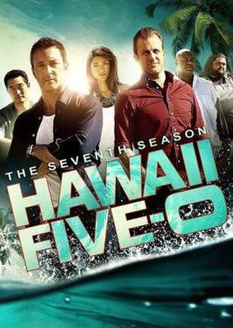 Hawaii Five-0 (2010 TV series, season 7) - Season 7 U.S. DVD cover